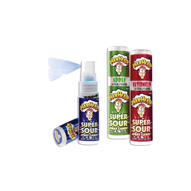 Warheads Upright Box Spray .68oz Case of 12