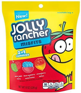 Jolly Rancher Misfits 2 in 1 Gummies 8oz