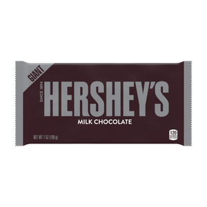 Hershey's Giant Bar Milk Chocolate 7oz Display of 12