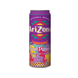 AriZona Tea Fruit Punch 23.5OZ Can (680ml)