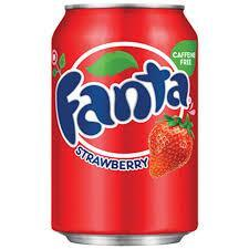 Fanta Strawberry 12OZ (355ml) Case of 12