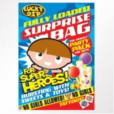 Boys Fully Loaded Surprise Bag Case of 48