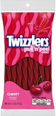 Twizzlers Peg Bag Cherry Pull & Peel 6.1oz Case of 12