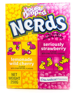 Giant Double Dipped Nerds 250g Pack of 6