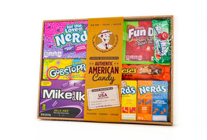Authentic Mixed American Large Hamper Cases of 6