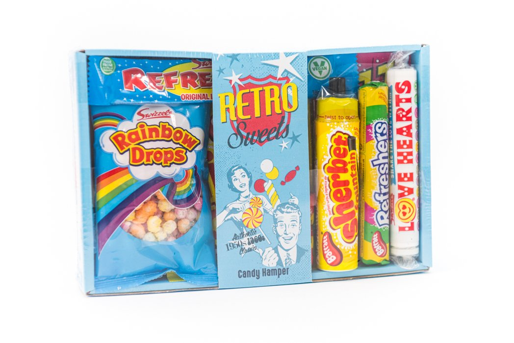 Small Retro Sweets Hamper