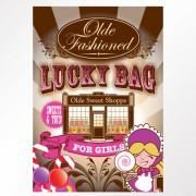 Girls Old Fashioned Lucky Bag Case of 25