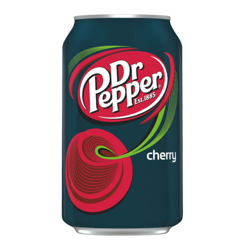 Dr. Pepper Cherry Can 12OZ (355ml) Case of 12