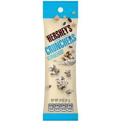 Hershey's Cookies N Cream Crunches Pouch 1.8oz Display of 8