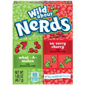 Watermelon & Cherry Nerds Box 1.65oz Case of 36