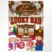 Old Fashioned Christmas Lucky Bag Case of 25