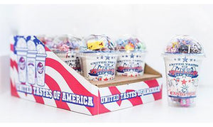 USA Smoothie Cup Display/Cases/Singles