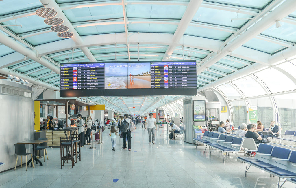 Airports Need To Make Better Use Of LED Displays