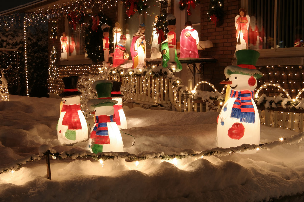 Are you Using LEDs In Your Festive Displays?