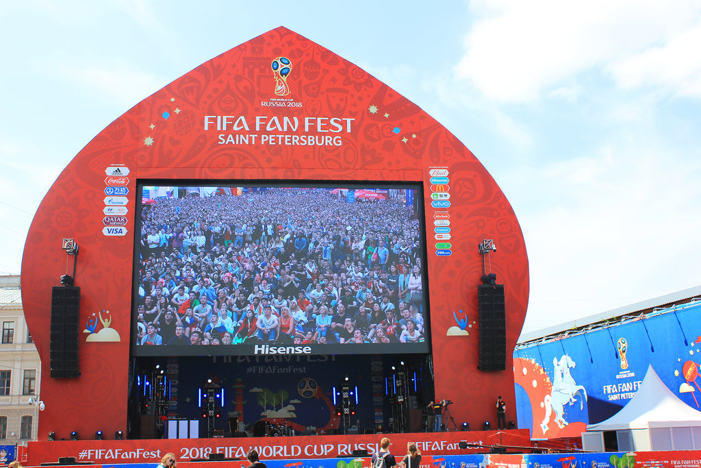 Largest LED Display In Time For World Cup