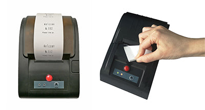 QS-1 - Number & Ticket system - Thermal Ticket Printer