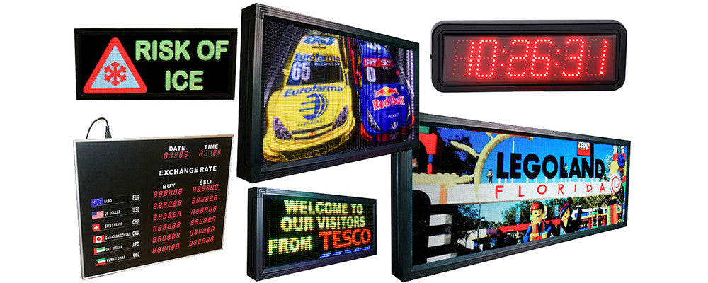 LED displays and screens