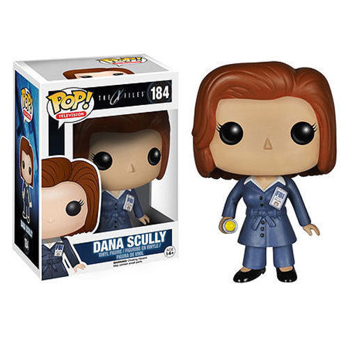 Pop! Television Vinyl X-Files Dana Scully