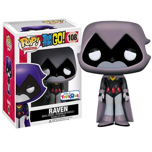 Funko Pop! Televsion: Teen Titans Go! Raven Toys-R-us Exclusive (Buy. Sell. Trade.)