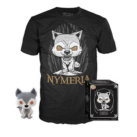 Funko POP! Game of Thrones Nymeria POP and T-Shirt Hot Topic Exclusive (Buy. Sell. Trade.)