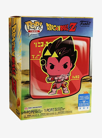 Funko POP! Animation Dragon Ball Z Vegeta and Tee (Size L) Box Lunch Exclusive (Buy. Sell. Trade.)