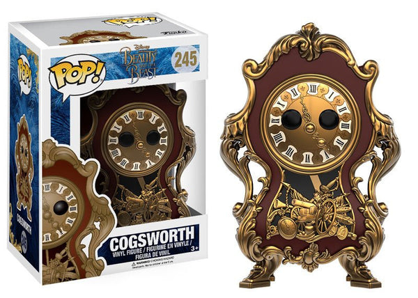 Pop! Disney Beauty & The Beast- Cogsworth
