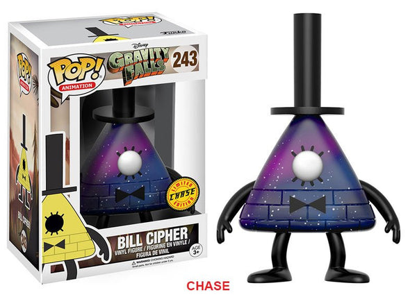 Funko POP! Animation Gravity Falls Bill Cipher CHASE