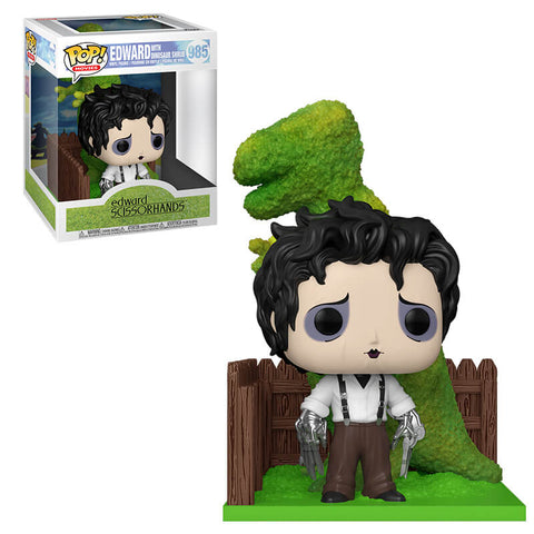 Funko Pop! Deluxe: Edward Scissorhands - Edward with Dinosaur Shrub