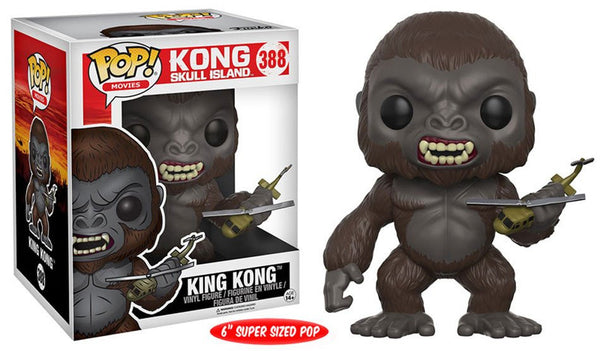 POP Movies Kong Skull Island King Kong 6""