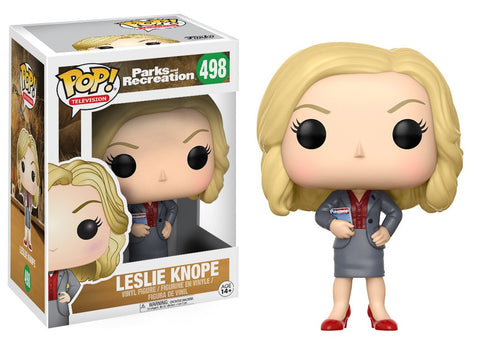 Funko Pop! TV Parks And Recreation Leslie Knope (Vaulted)
