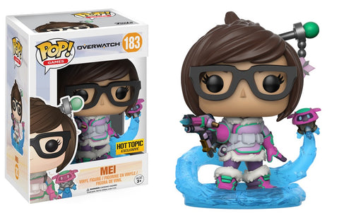 Funko Pop! Overwatch Mei 183 Hot Topic Exclusive (Buy. Sell. Trade.)