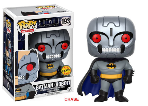 POP! Heroes Animated Batman Robot Batman CHASE
