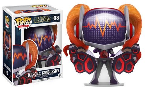 Funko Pop! Games: League of Legends - DJ Sona: Concussive 08 Riot Games Exclusive ( Buy. Sell. Trade)