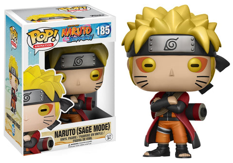 Funko Pop! Animation: Naruto - Naruto (Sage Mode) 185 (Special Edition Sticker) (Buy. Sell. Trade.)