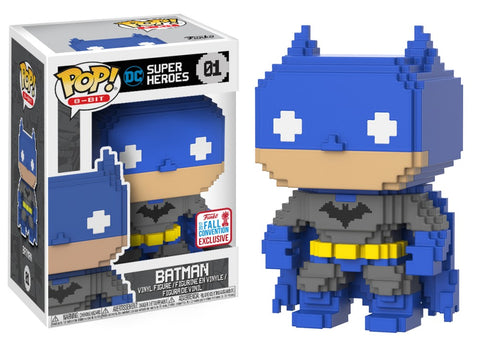 Funko Pop! 8-Bit DC Super Heroes Batman 8-Bit 01 2017 Fall Convention Exclusive (Buy. Sell. Trade.)