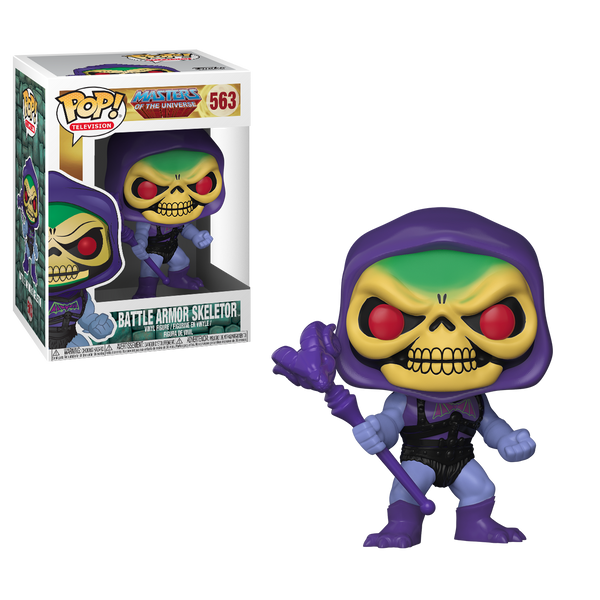 Funko Pop! Television: Masters of the Universe - Battle Armor Skeletor