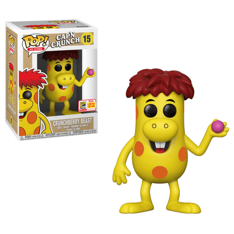 Funko Pop! Ad Icons: Crunchberry Beast 15 SDCC (Buy. Sell. Trade.)