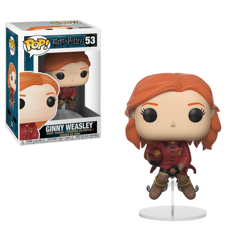 Funko POP! Movies Harry Potter Ginny Weasley on Broom