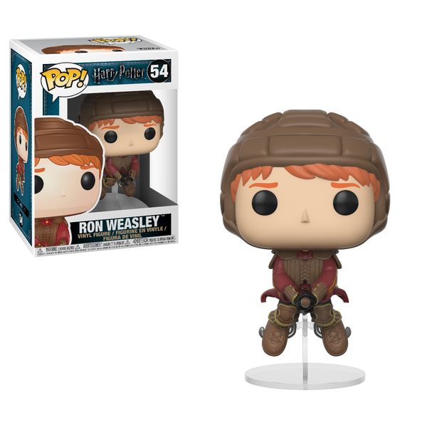 Funko POP! Movies Harry Potter Ron Weasley on Broom
