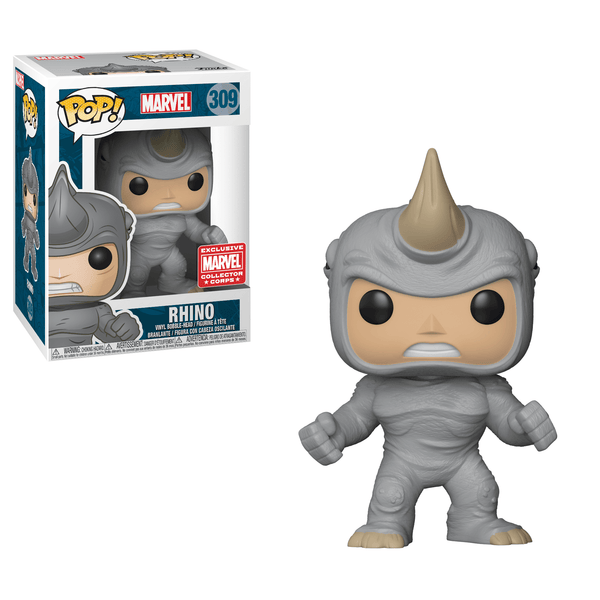Funko Pop! Marvel Rhino 309 Collectors Corps Exclusive (Buy. Sell. Trade.)