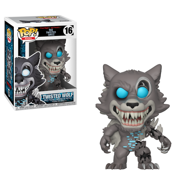 Funko Pop! Books: Five Nights at Freddy's - Twisted Wolf
