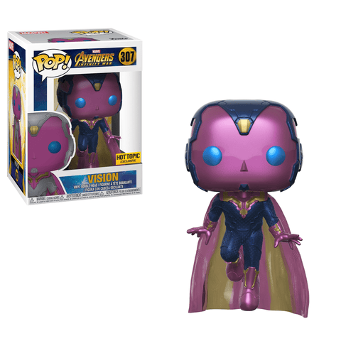 Funko Pop! Marvel Avegers Infinity War Vision 307 Hot Topic Exclusive (Buy. Sell. Trade.)