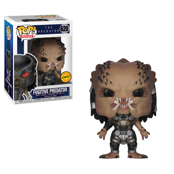 Funko POP! Movies: The Predator - Fugitive Predator Unmasked CHASE