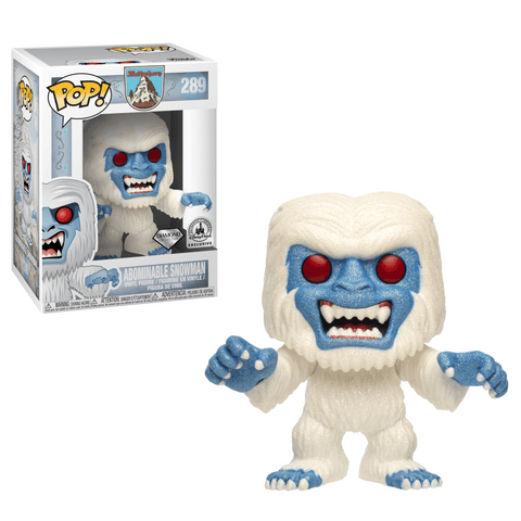 Funko Pop! Abominable Snowman 289 (Diamond) Disney Parks Exclusive (Buy. Sell. Trade.)