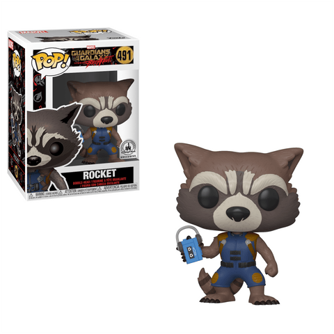 Funko Pop! Guardians of the Galaxy Mission Breakout Rocket 491 Disney Park Exclusive  (Buy. Sell. Trade.)