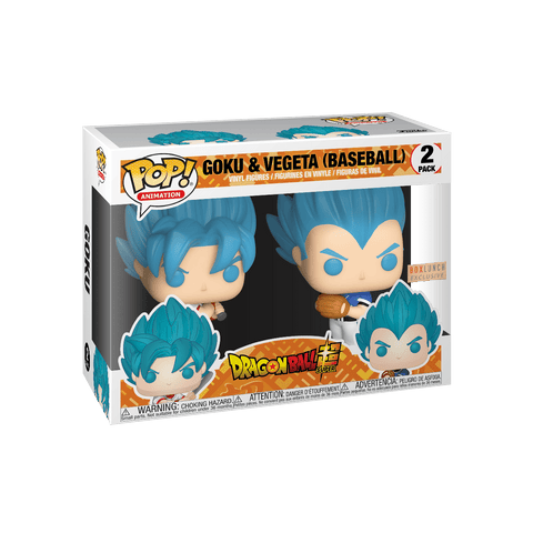 Funko POP! Goku & Vegeta (Baseball) Boxlunch Exclusive (Buy. Sell. Trade.)