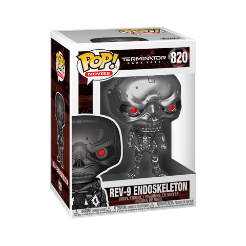 Funko POP! Movies Terminator Dark Fate- Rev-9 Endoskeleton