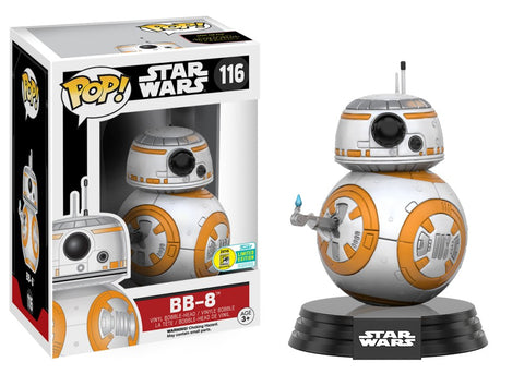 Funko Pop! Movies: Star Wars - BB-8 116 SAN DIEGO COMIC CON Exclusive (Buy. Sell. Trade.)