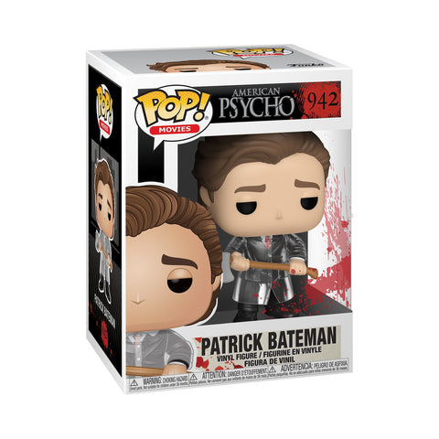 Funko Pop! Movies: American Psycho - Patrick w/ Axe