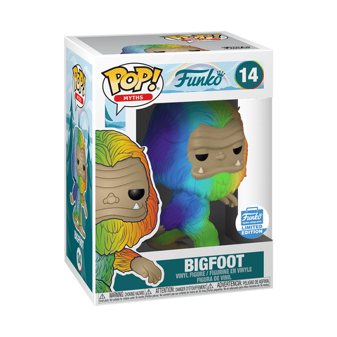 Funko POP Bigfoot Rainbow 14 Funko Shop Exclusive (Buy. Sell. Trade.)